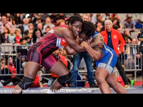 Tamyra Mensah (Titan Mercury WC) vs Randi Miller (Army WCAP) Olympic Qualifier Finals (highlights)