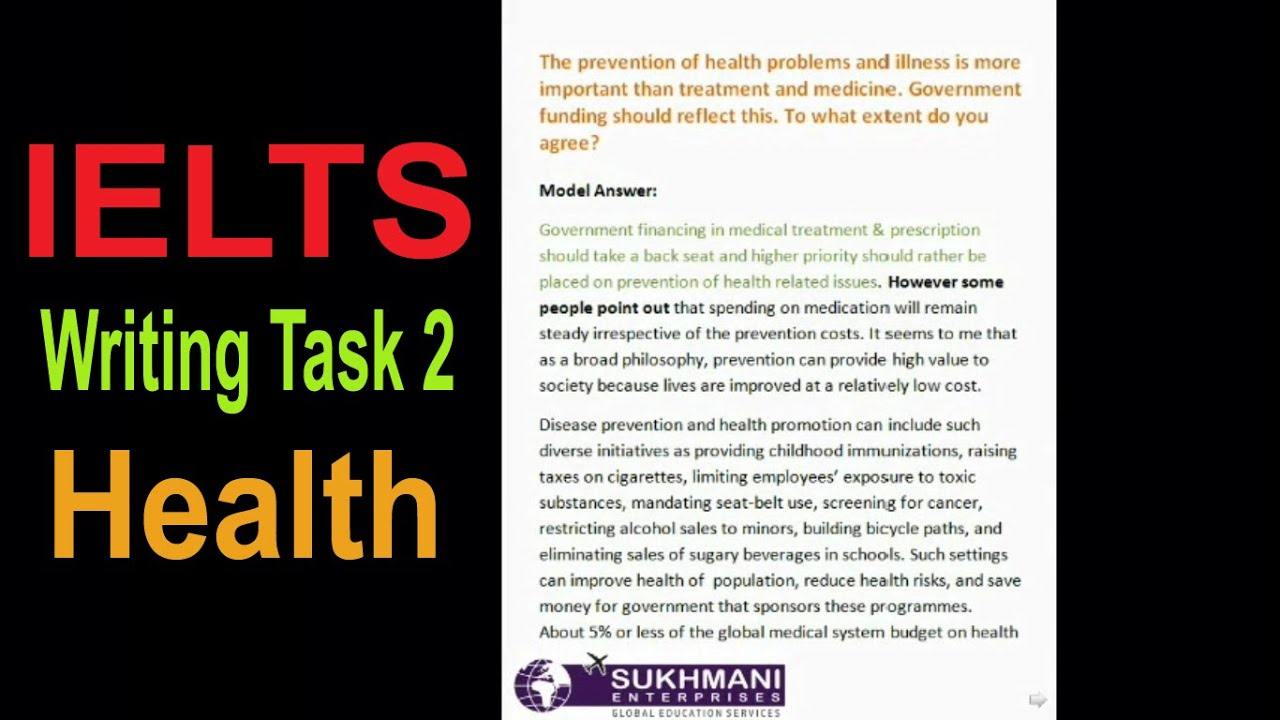 IELTS Writing Task 2 Sample 82 - The costs of medical health care are increasing all the time