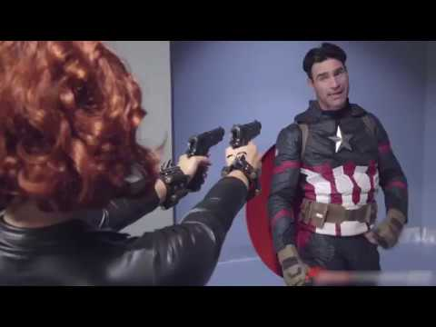 Avengers Civil War a XXX P**n version Black Widow vs Captain America from YouTube · Duration:  5 minutes 53 seconds