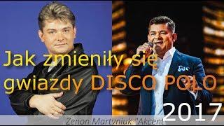 Jak zmieniły się gwiazdy Disco Polo Zenon Martyniuk Akcent, Miller Boys, Shazza