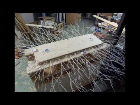 costruire un lampadario con luci led e materiali di riciclo Art. 169