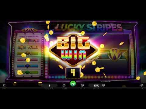Игровой автомат Lucky Stripes (iSoftBet)