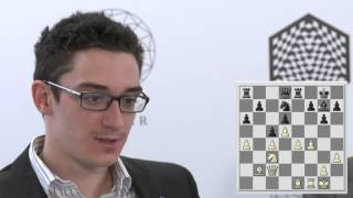 Round 5 Caruana & Aronian   Candidates Tournament 2016