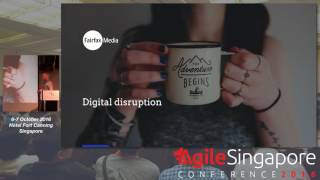 Innovate or Die Trying - Agile Singapore Conference 2016