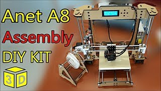 anet a8 prusa i3 desktop 3d printer diy kit by gearbest   assembly