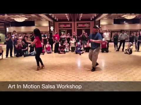 Art In Motion Salsa Workshop - 2016 Montreal Bachata Kizomba Festival