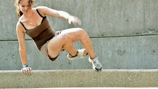 Beautiful But Strong / Amazing Parkour Girl