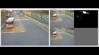 Video Detection around the crosswalk with VOT (Video Segmentation Tracking) algorism