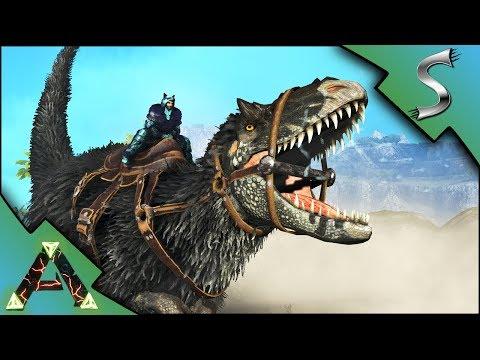 TAMING A HIGH LEVEL YUTYRANNUS - Ark: RAGNAROK [DLC Gameplay E31]