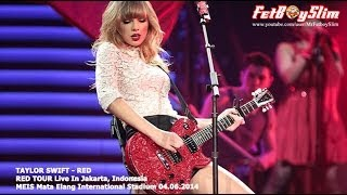 Taylor swift the red tour live in jakarta - indonesia at meis ancol june 6, 2014