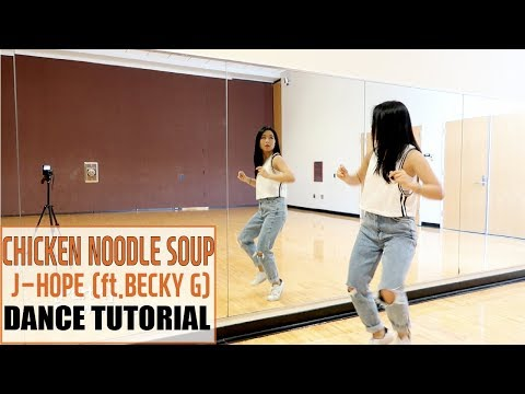 j-hope 'Chicken Noodle Soup (feat. Becky G)' Lisa Rhee Dance Tutorial