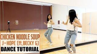 j-hope 'Chicken Noodle Soup (feat. Becky G)' Lisa Rhee Dance Tutorial