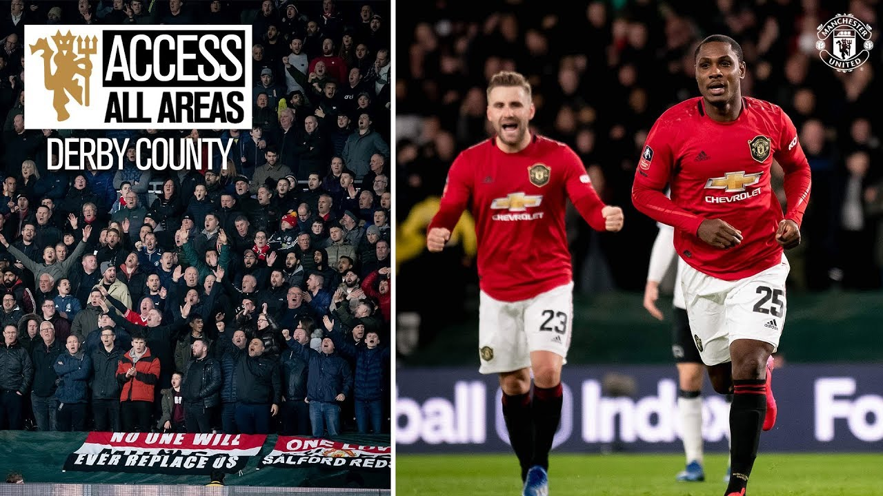 View from the Away End | Derby 0-3 Manchester United | Emirates FA Cup