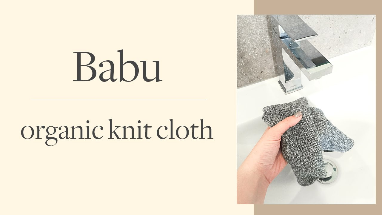Babu- Organic Knit Reusable Multipurpose Cloths