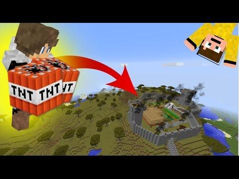 😱 Felrobbantottam JAMES Hardcore Mapját!!!   5 Perc Alatt TNT Kihívás 3.rész! 😱