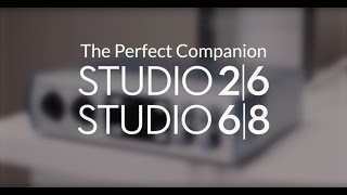 PreSonus—Studio 26 and Studio 68 audio interfaces