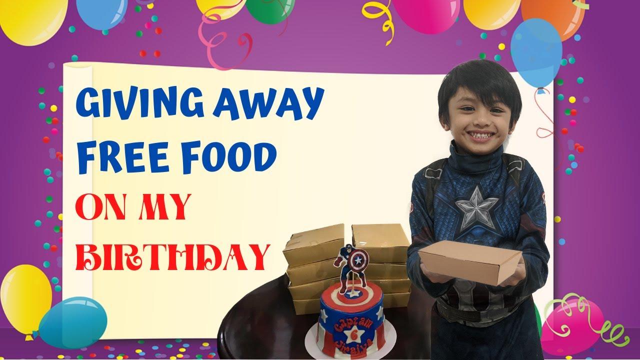 Giving Away Free Food ( Jiraiya's 6th Birthday Celebration )