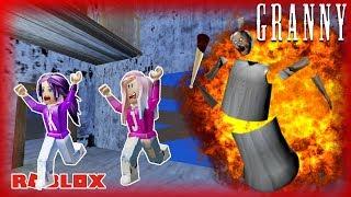 ESCAPE THE EXPLODING GRANNY! / Roblox: Granny Escape / COMPLETE WALK-THROUGH ESCAPE