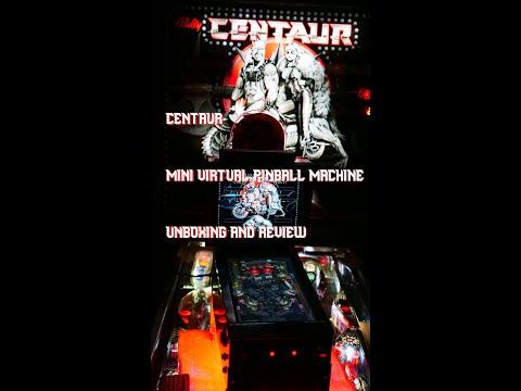 Centaur Miniature Virtual Pinball Machine Unboxing & Review