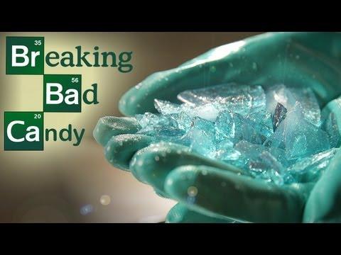 How to make blue rock candy sticks