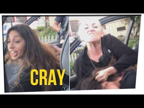 Crazy Hair-Pulling Arrest Goes Viral ft. Nikki Limo & DavidSoComedy