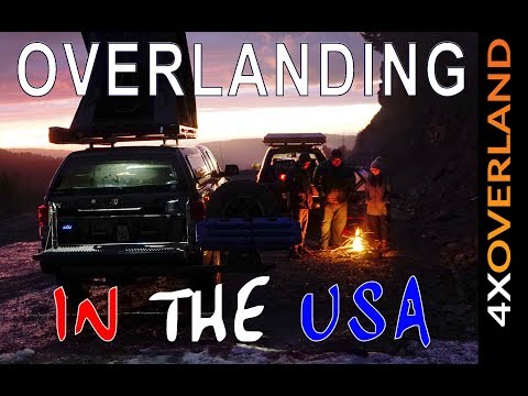 OVERLANDING IN THE USA, Ep2. Washington to Oregon. Andrew StPierre White