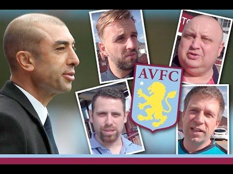 Aston Villa fans react to Roberto Di Matteo departure