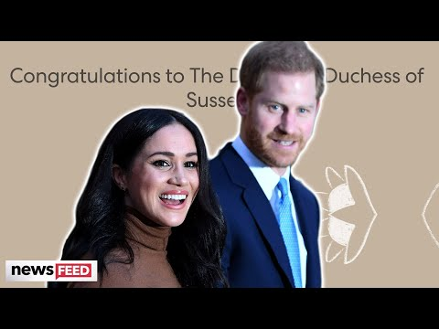 Harry & Meghan Markle WELCOME Baby Girl & Pay Tribute To Diana!