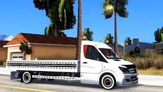 GTA San Andreas - Mercedes Benz Etiket Sprinter | EnRoMovies