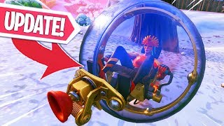 THE BALLER UPDATE IS ER!! BALLER VOERTUIG GAMEPLAY! Fortnite Battle Royale LIVE