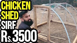 Rs.3500 Ka Chicken Shed for Chicken Farming In Pakistan | Azad Chaiwala Show