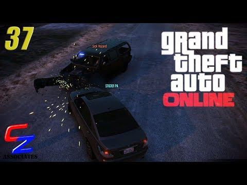 GTA 5 Online - Episode 37 - CZGA - Cops vs...