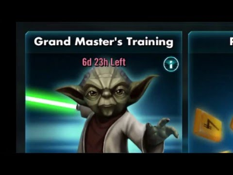 Star Wars: Galaxy Of Heroes - Grand Master Yoda Event