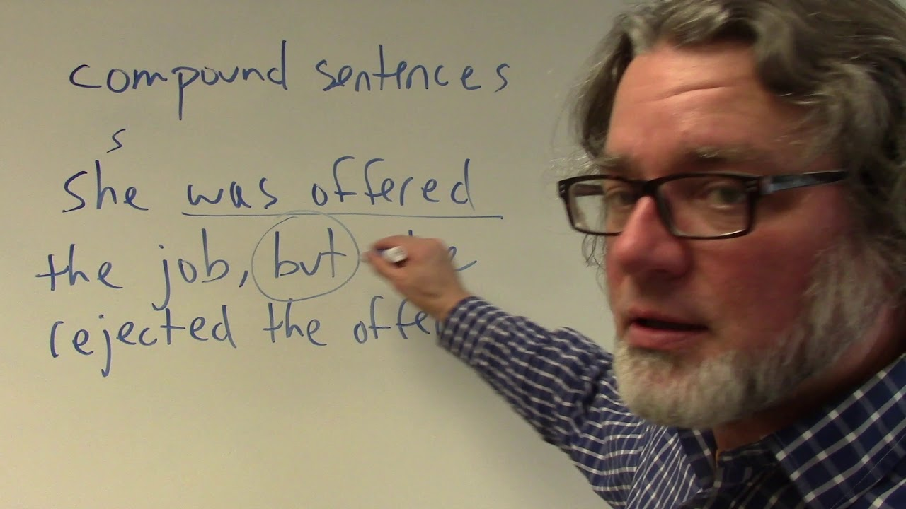 compound sentences in English