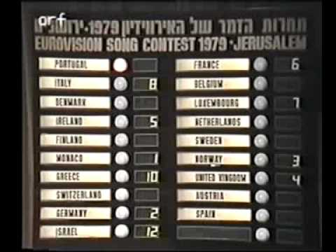 Eurovision 1979 - Voting Part 1/5