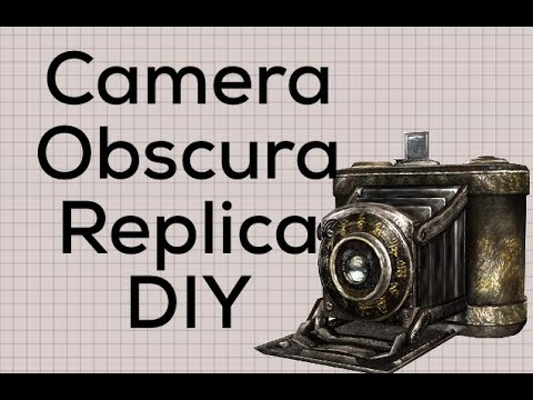 Fatal Frame Camera Obscura Replica DIY - YouTube