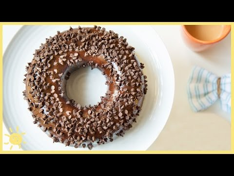 eat-gigantic-chocolate-donut-featuring-popsugar-food