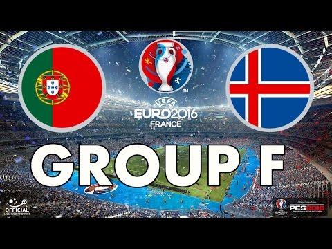 PES 2016 - EURO 2016 - Group F - Portugal v Iceland