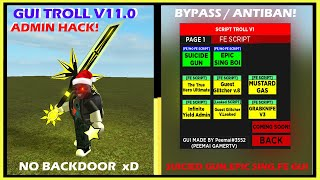 ROBLOX PROJECT | GUI TROLLING V11.0 | VERSION BETA | 14/4/2019 | SHOWCASE? |