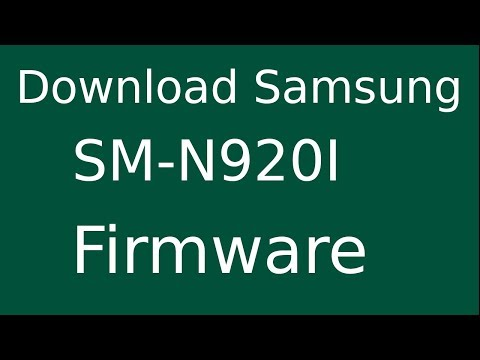 How To Download Samsung GALAXY Note 5 SM-N920I Stock