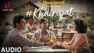 Gambar cover Khairiyat Full Song (Bonus Track) - Chhichhore | Arijit Singh | Khairiyat pucho kabhi kaifiyat,Audio