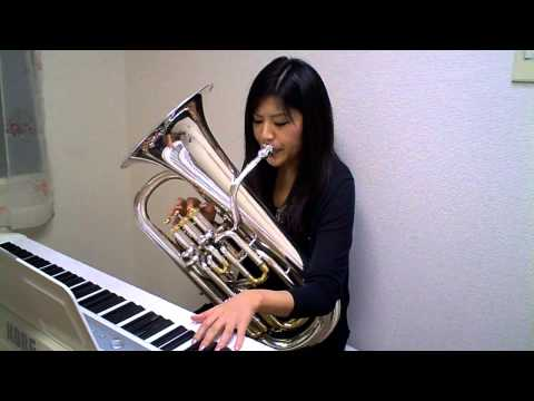 Amazing Grace (Euphonium and Piano play Misa Akahoshi)