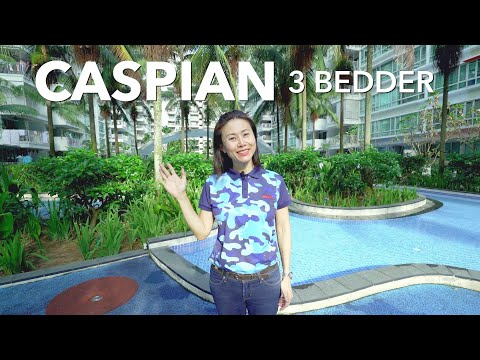 Singapore Condo Property Listing Video - Jurong West Caspian 3 Bedder For Sale