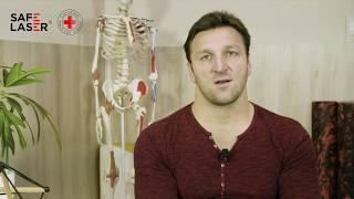 Dr.  Kiss Gergely: olimpiai bajnok vízilabdázó Safe Laser riport
