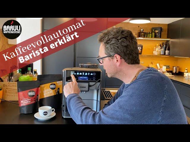 Kaffeevollautomat richtig einstellen - Barista erklärt!