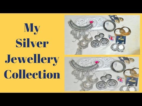 MY SILVER JEWELLERY COLLECTIONI | Arshiya's Corner