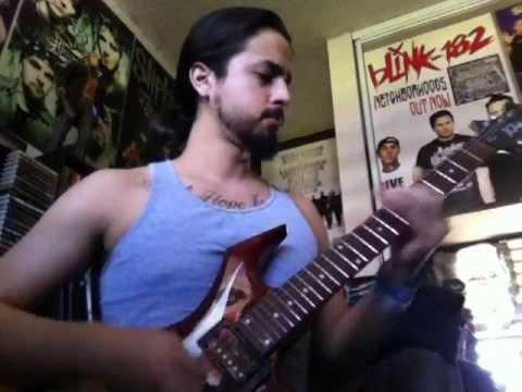 "Curtis Axel ""Reborn"" WWE theme guitar cover"