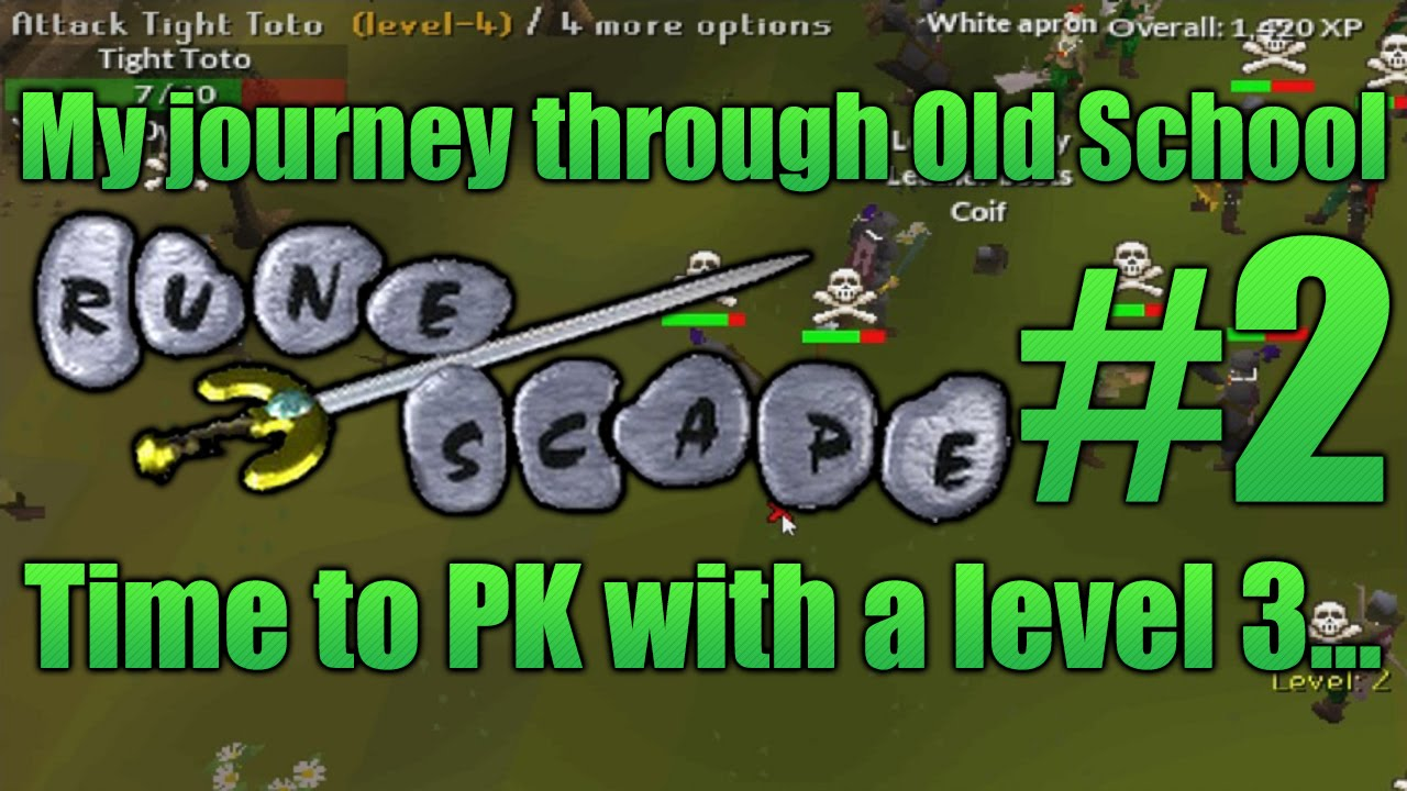White apron in runescape - My Journey Through Old School Runescape 2 Pking With A Level 3