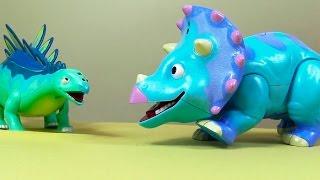 Розвиваючий мультфільм - Розмова динозаврів