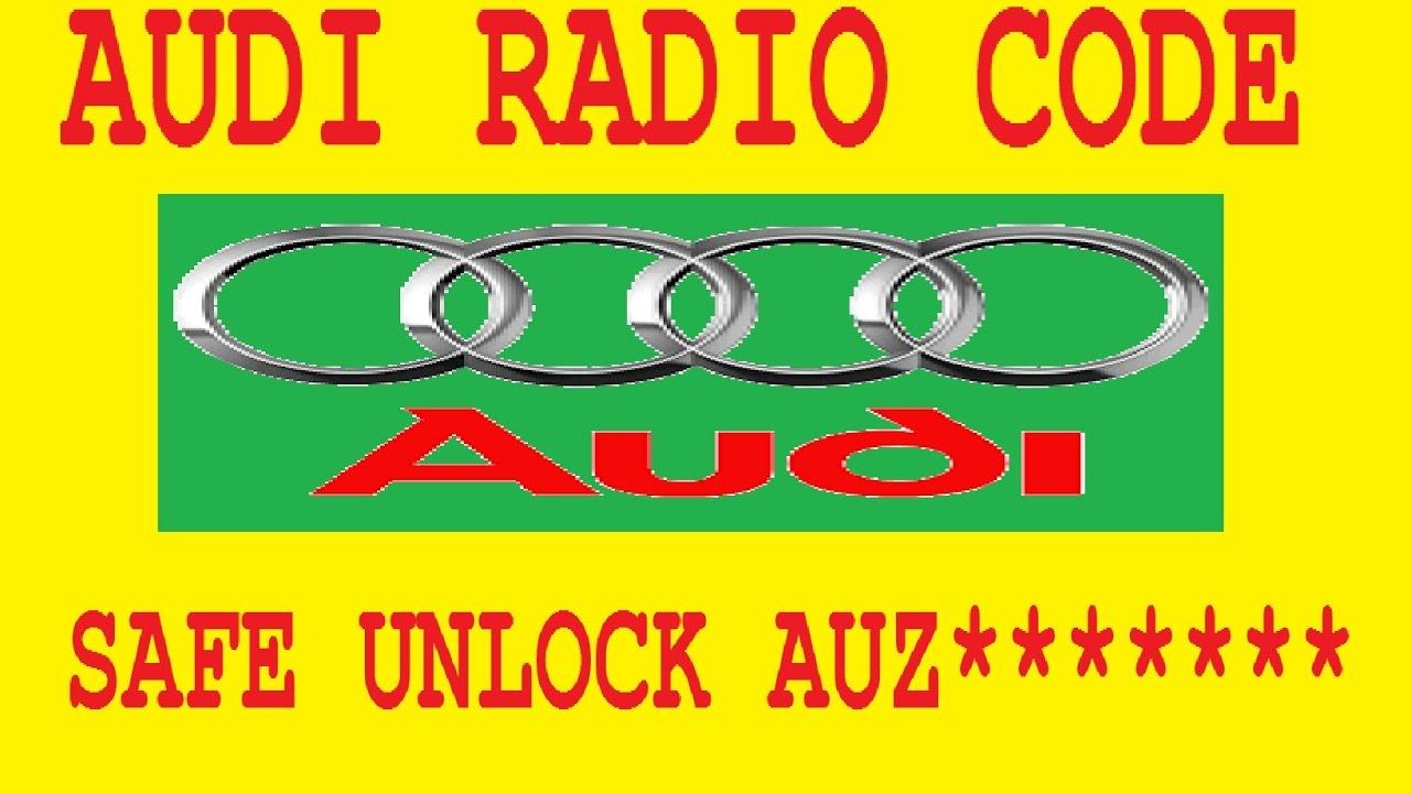 Audi Radio Code Keygen Generator Golf - africastaff